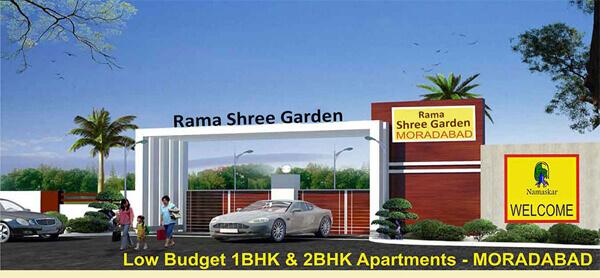 Rama Shree Garden Flat & Floor Plan Price in Moradabad UP